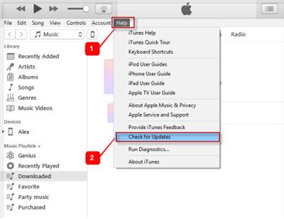 Update iTunes to Fix iTunes Error