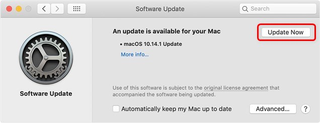 Update iTunes on Mac