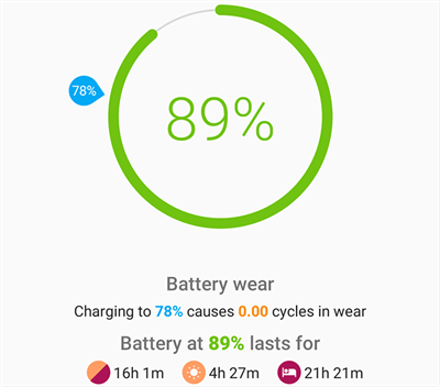 Check Phone Battery Stats with AccuBattery