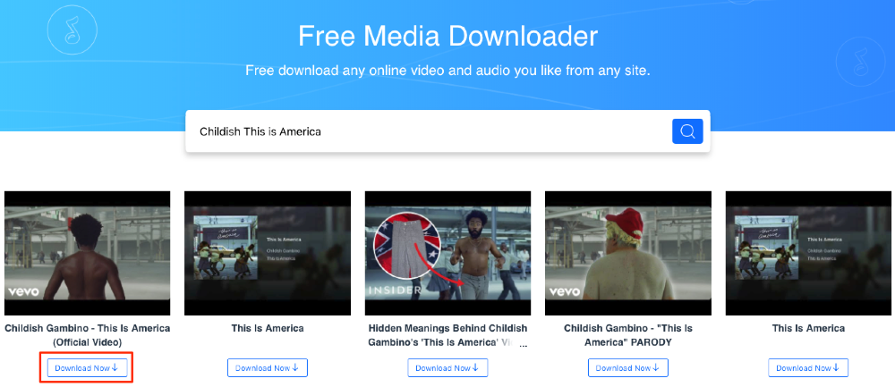 Free Download Childish This is America MP3