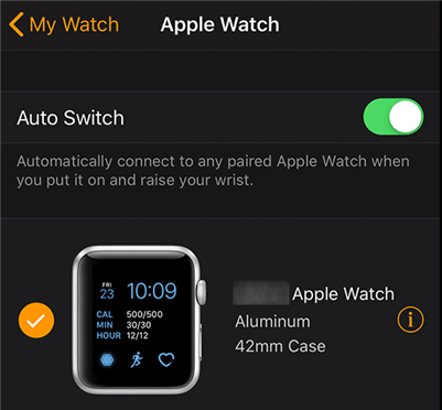 Choose your Apple Watch