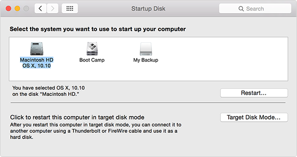 How to Select Startup Disk on Mac – Step 3