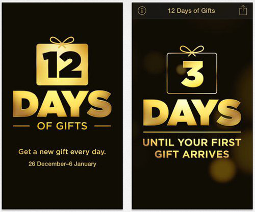 Christmas Apps for iPhone & iPad – 12 Days of Gifts