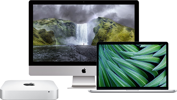 Retina iMac, Retina MacBook Pro and Mac Mini