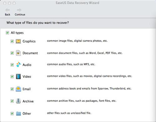 Best Apps for Apple Lovers - EaseUS Data Recovery Wizard for Mac