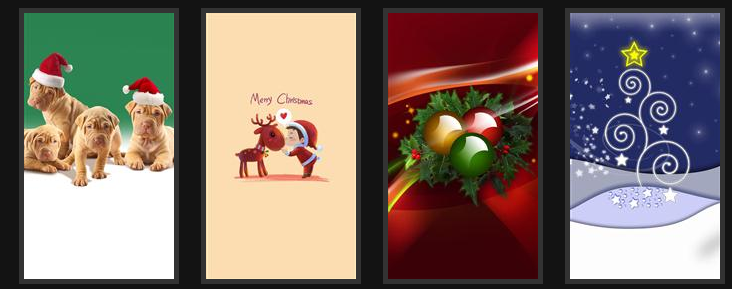 Christmas Wallpapers for iPhone/iPad - HD iPhone6 Wallpaper
