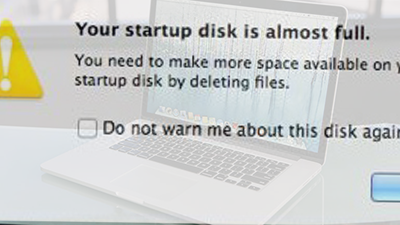 Your Startup Disk is Almost Full on MacBook