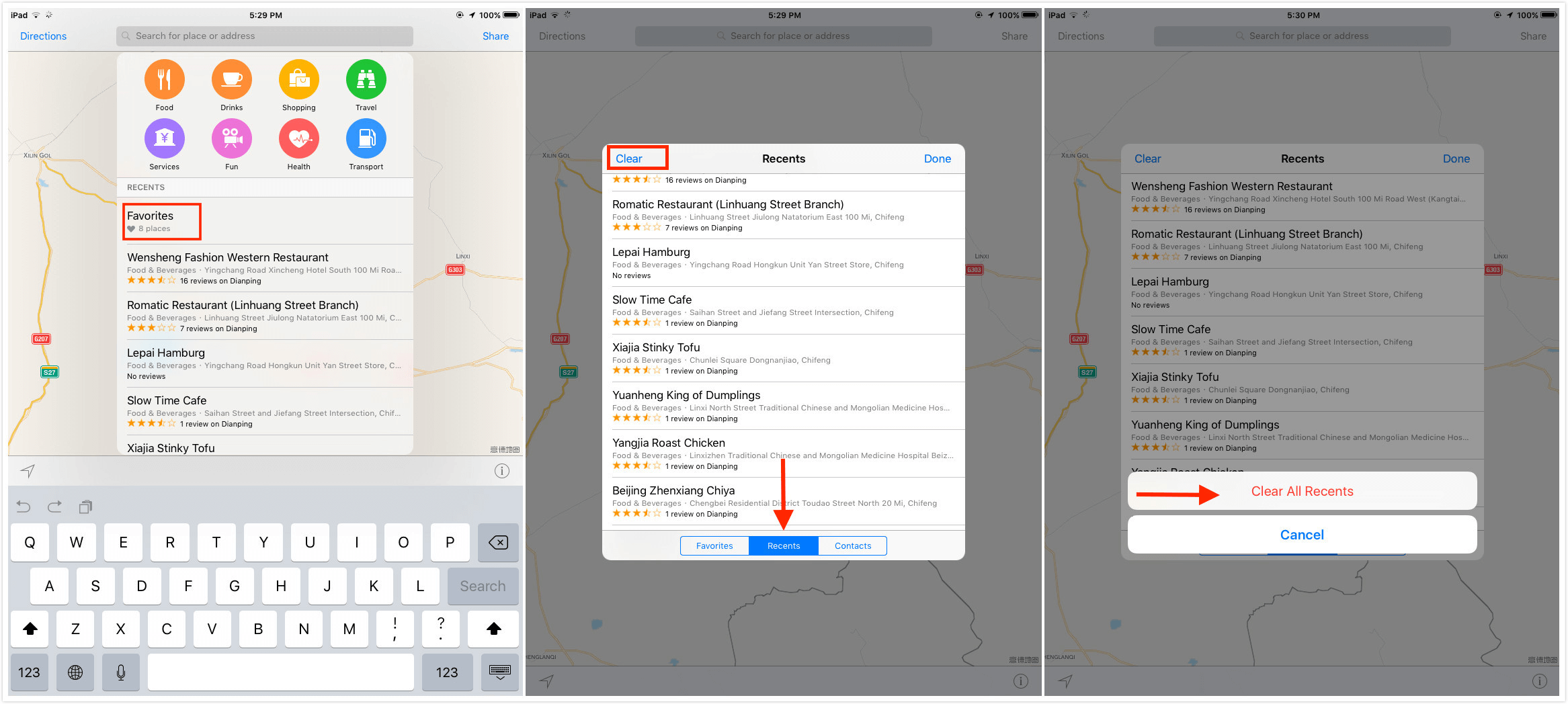 How To Clear Maps History Quick Tip] How to Clear Apple Maps History   iMobie Inc. How To Clear Maps History