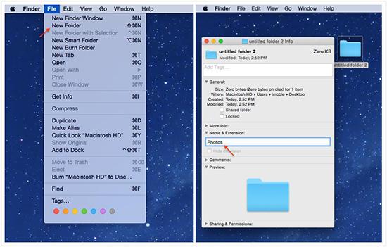 Organize Desktop Files into Folders