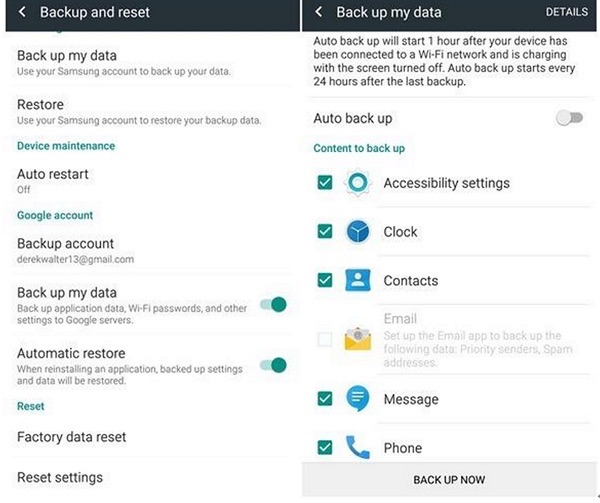 How to Clone Android Phone via Google Drive – Screen Overview