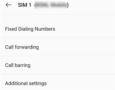 Turn Off Call Forwarding