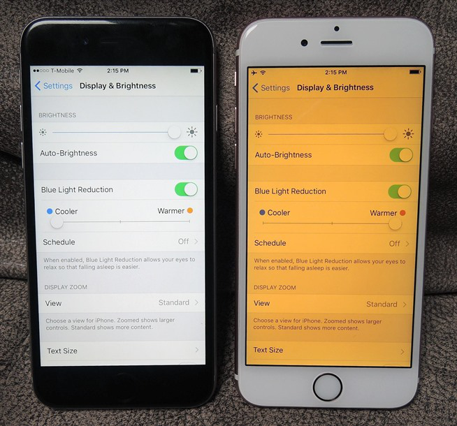 Activate and Use Night Shift on iOS 9.3