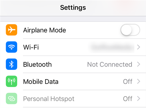Connect to a wireless network