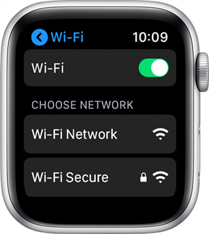 Connect to a WiFi Network on the Apple Watch