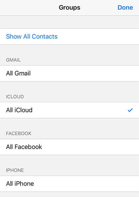 Contacts Didn't Transfer to New iPhone - Fetch Contacts Only from iCloud