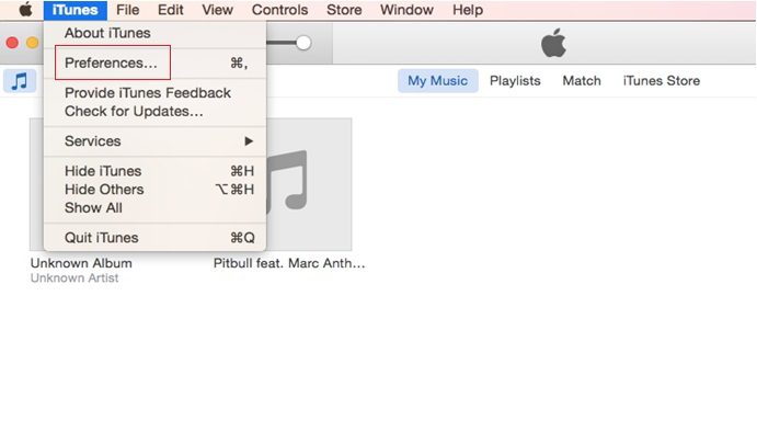 How to Convert M4a to Mp3 via iTunes - Step 1