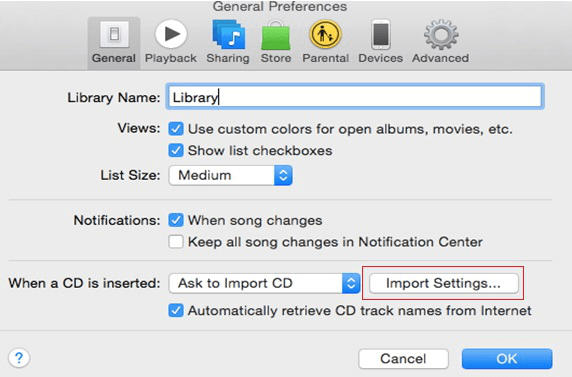 How to Convert M4a to Mp3 via iTunes - Step 2