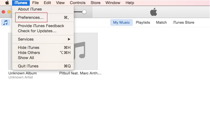How to Convert Wav to MP3 iTunes -Step 1