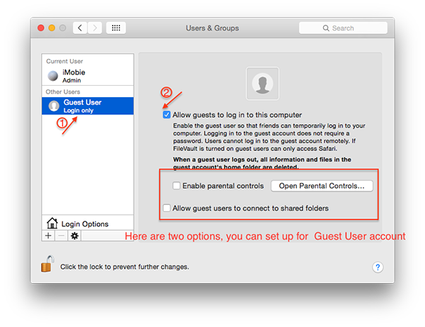 How to Enable or Create a Guest User for Mac OS X