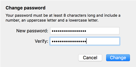 Create A New iCloud Password On A Mac