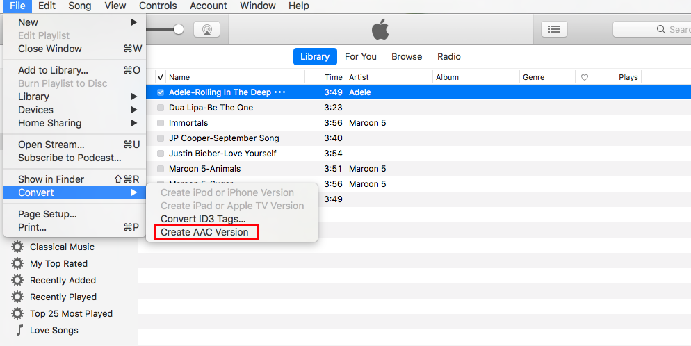 how to create ringtone on iphone from itunes 12.7
