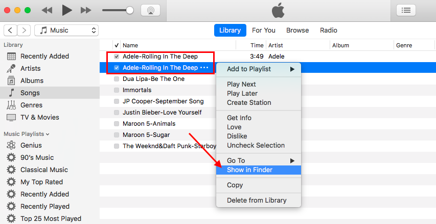create ringtone itunes 12.7.3