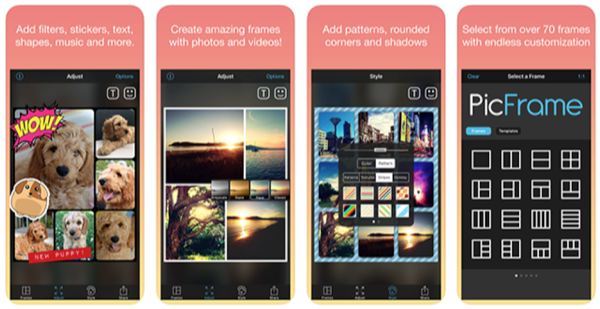 Create Photo and Video Collages with PicFrame