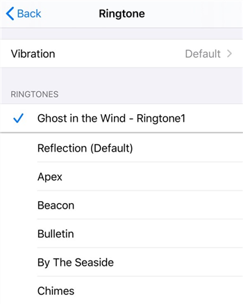 Set the Ringtone on Your iPhone