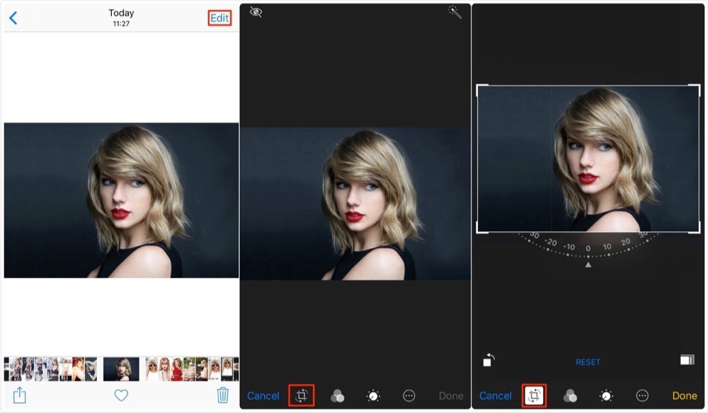How to Crop a Photo on iPhone