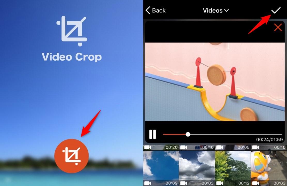 Crop a Video Using Video Crop - Choose a Video