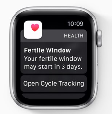 WatchOS New Features - Cycle Tracking