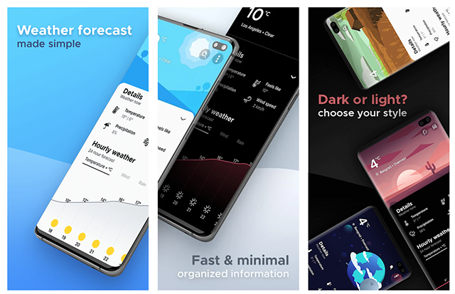 Overdrop - beautiful and highly detailed weather app