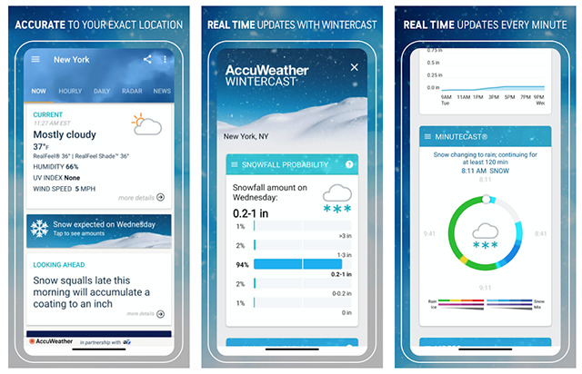 Reliable weather app - AccuWeather
