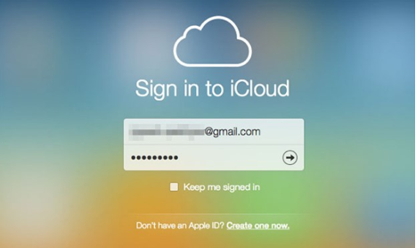 Delete a Contact from iCloud via iCloud.com- Step 1