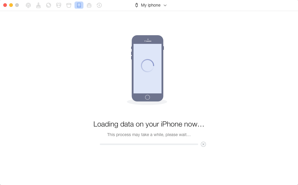 Delete iCloud Account Without Password by Erasing Data - Step 3