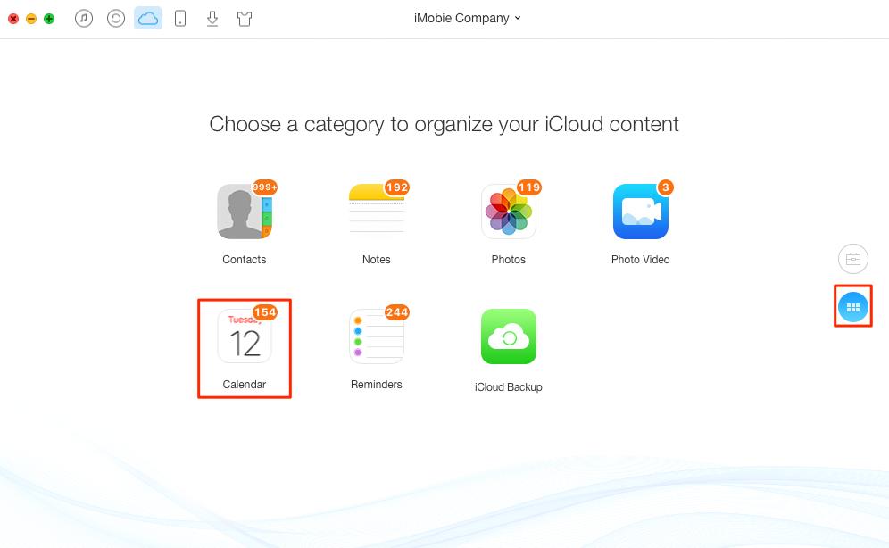 Delete iCloud Calendar – Step 2