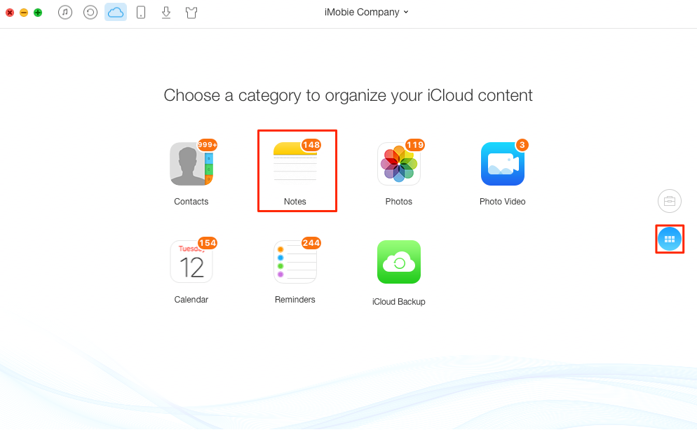 How to Delete iCloud Notes – Step 2