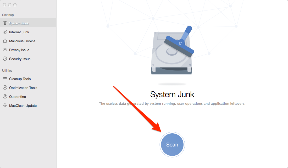 How to Delete Junk Files from Mac – Step 2