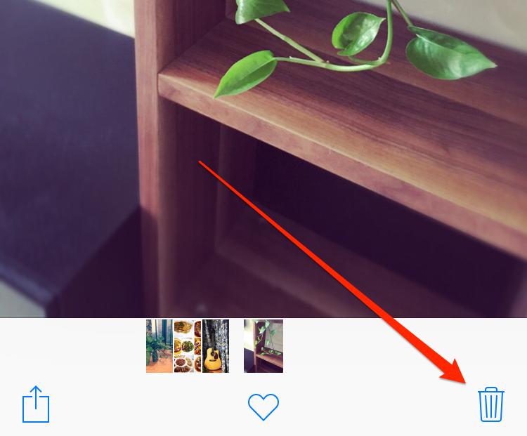How to Delete One Photo on iOS 10/10.3.3/11