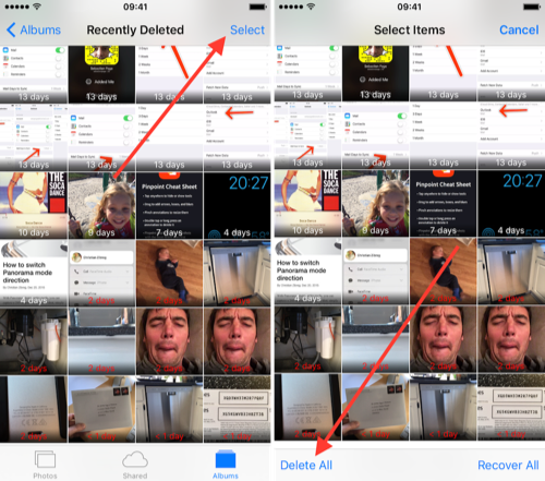 How to Delete Recently Deleted Photos on iPhone