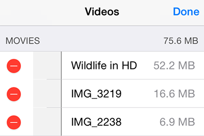 How to Delete Videos from iPhone via Settings App