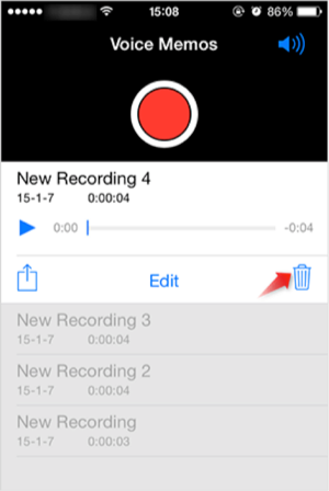 How to Delete Voice Memos on iPhone Manually