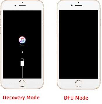 Recovery Mode vs DFU Mode