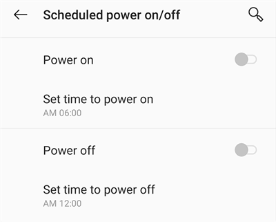 Prevent the Phone from Automatically Turning Off