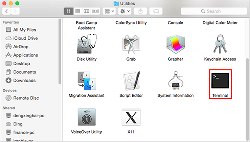 How to Show Only Active Apps in OS X Dock- Step 1