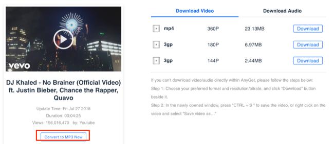 DJ Khaled No Brainer MP3 Download