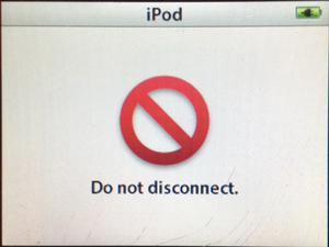 Click Wheel iPod classic Won't Connect to iTunes
