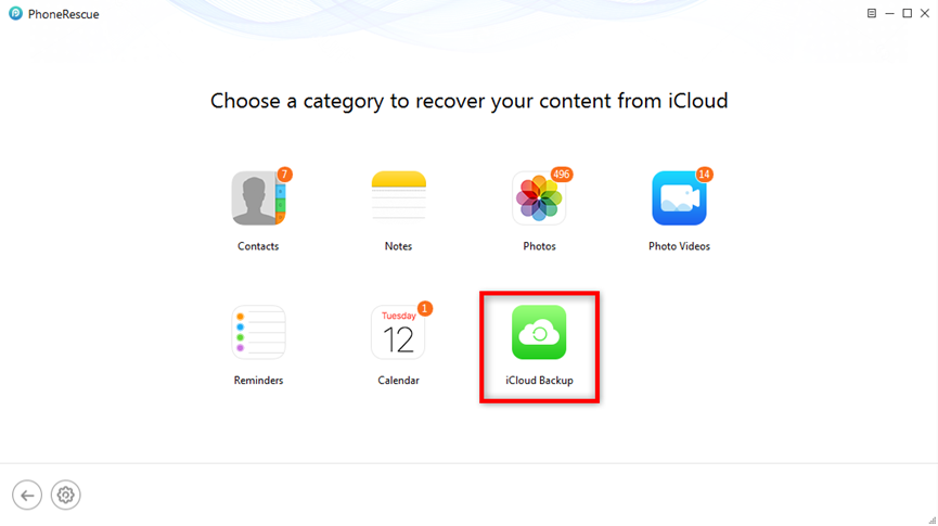 How to Recover Deleted Photos from iCloud – Step 2