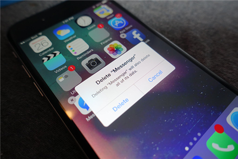 Uninstall dubious apps from the iPhone