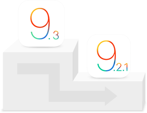 Downgrade iOS 9.3 to iOS 9.2.1